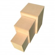 Stackable Easy Storage Display Plinths
