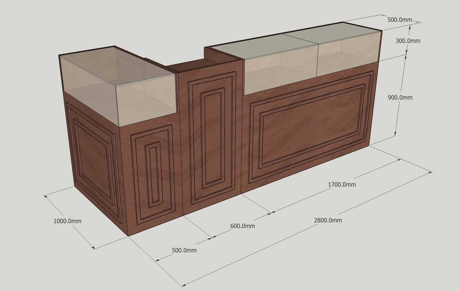 Sapele Desk