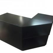 3 piece black