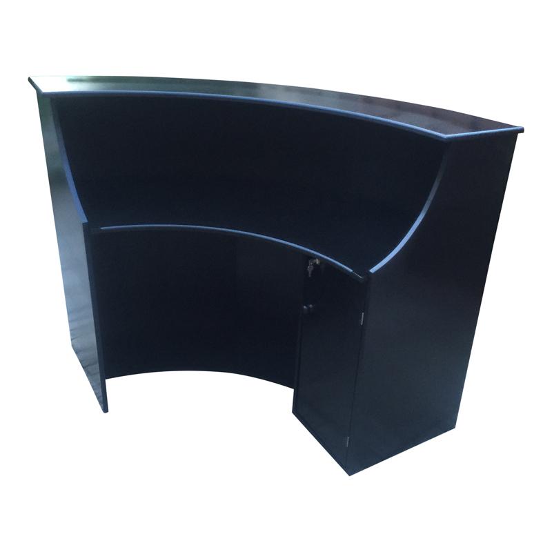Rdesk22 Rdes23 Curved Black Unit