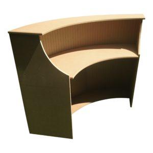 Medium Curved Reception Desk