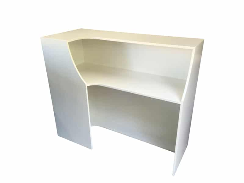 Rdesk7plinths Rdesk9 L Shaped Reception Desk