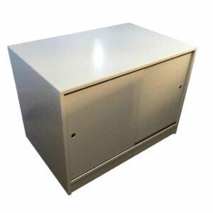 Grey cupboard unit