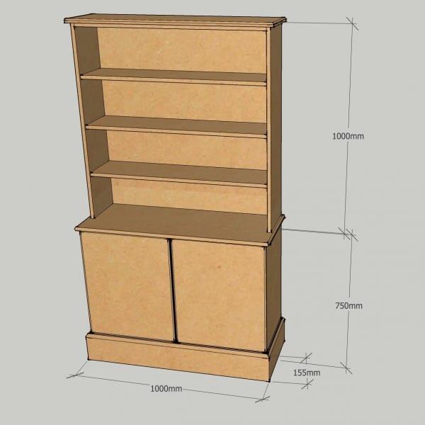 Dresser Plain Doors