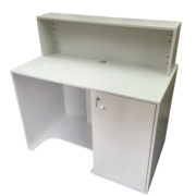 Curved Front Reception Desk