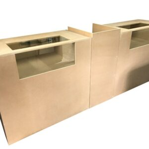Bespoke MDF Showcase Counter