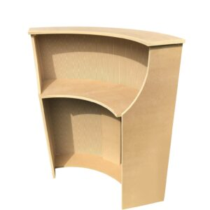 Bespoke MDF Curved Desk
