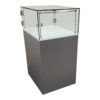 Exhibition Plinth With Glass or Acrylic Showcase
